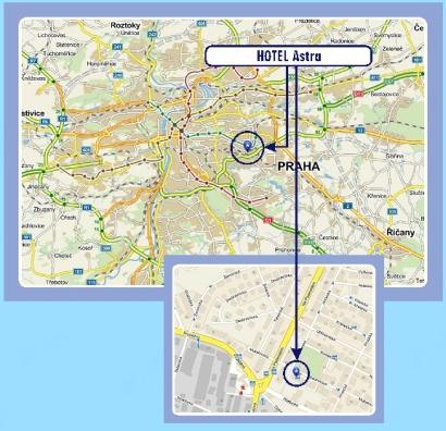 Mapa Brna